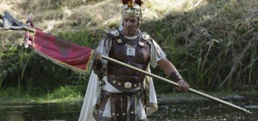 Décimo Junio Bruto cruzando el río Limia