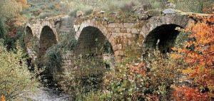 Puente Freixo antes de su restauración
