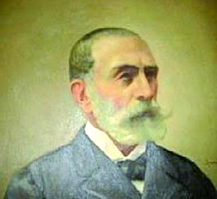 Retrato de D. Manuel Bárcena Franco, primer Conde de Torrecedeira