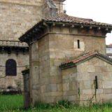 Vista exterior de la capilla de San Miguel