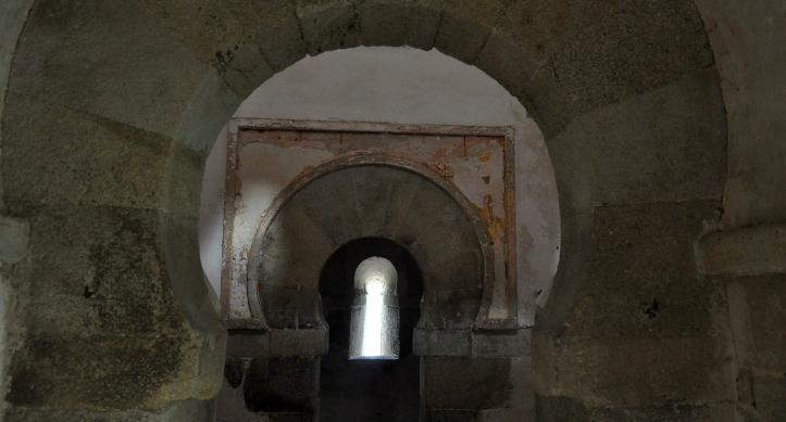 Interior de San Miguel de Celanova
