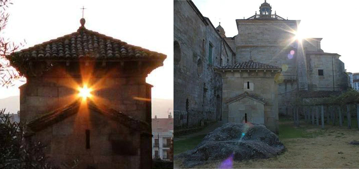 Equinoccio y solsticio en san Miguel de Celanova