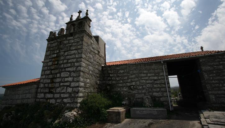 Actual iglesia del Alcázar de Milmanda