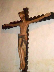 Cristo románico de Vilanova dos Infantes
