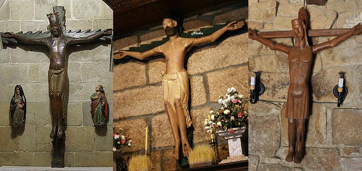 Otros Cristos románicos de Ourense: Catedral de Ourense, Allariz y Baños de Molgas