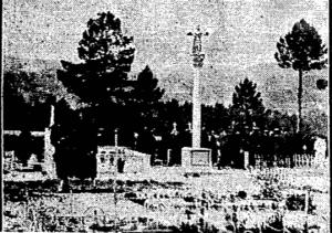 Foto del entierro de Manuel González en Ferreiros/Agustín Álvarez