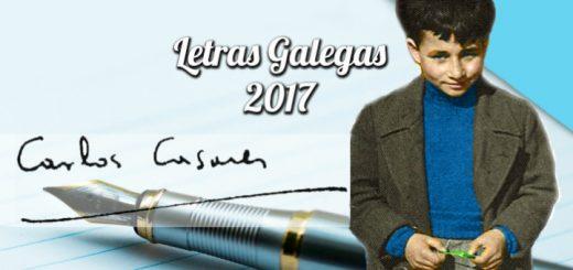 Carlos Casares de neno/ Xose A. Carrera