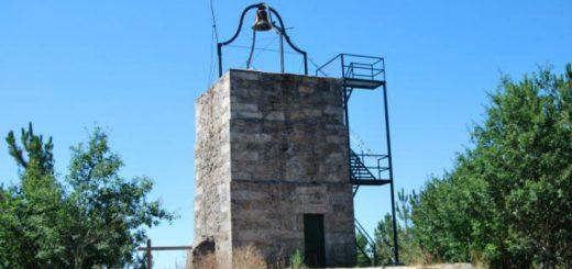 Torre del Reloj de O Facho en el año 2010