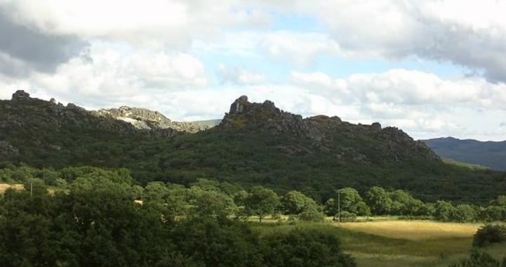 Panorámica del Castillo de la Reina Loba