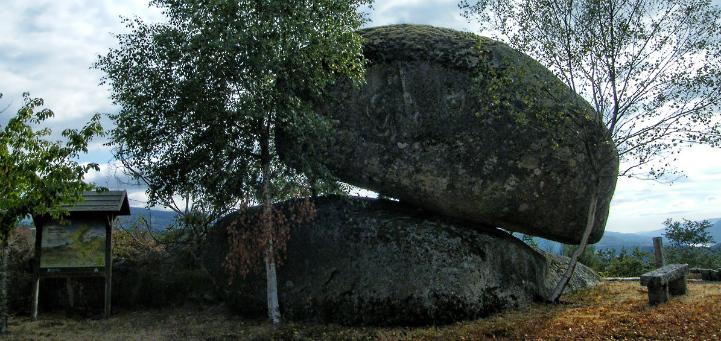 Piedra de San Rosendo en A Cela