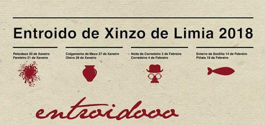Detalle del Cartel del Entroido de Xinzo de Limia 2018