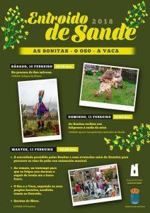 Cartel del Entroido de Sande 2018/ Concello de Cartelle