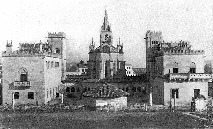 Colegio de Calasancias Santo Ángel (Ourense, 1933) / Pacheco