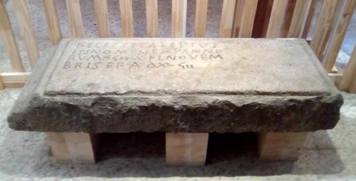 Lauda funeraria de Alepius