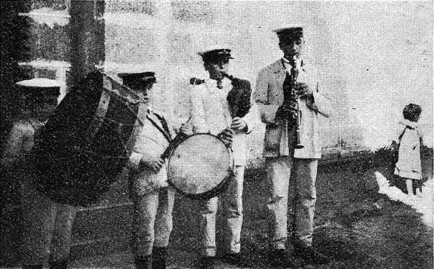 """Os Maravillas"" en 1918/ Vida Gallega"