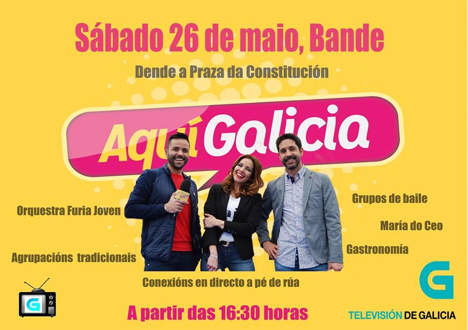 """Aquí Galicia en la """"XLVII Festa do Peixe"""" de Bande"""