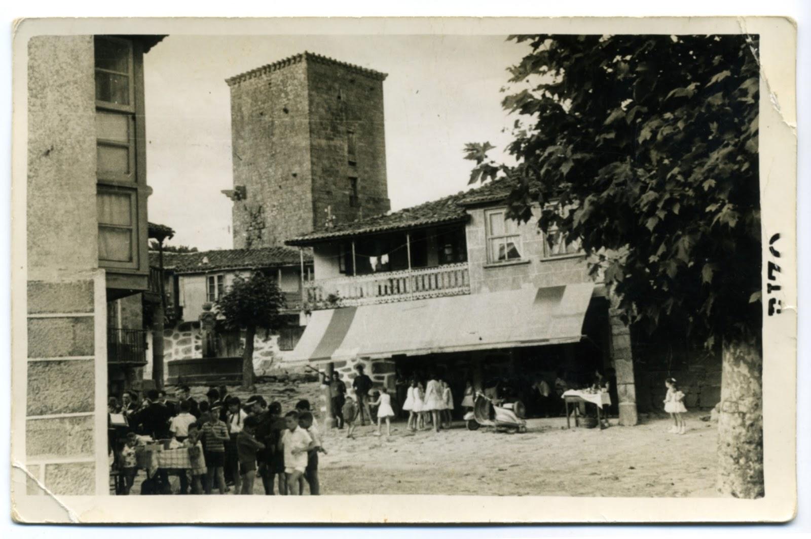 Vilanova dos Infantes en los años 50 o principios de los 60/ Rizo