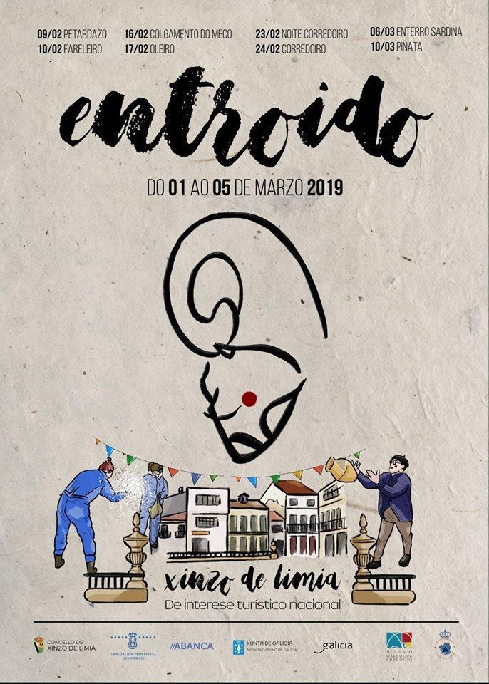 Cartel del Entroido de Xinzo de Limia 2019
