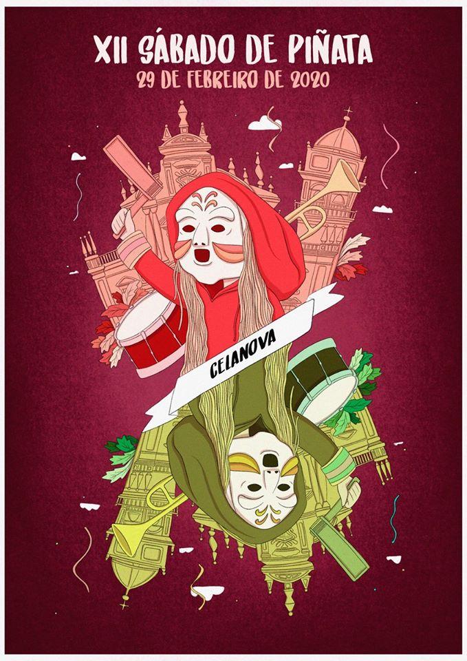 Cartel del Sábado de Piñata de Celanova 2020