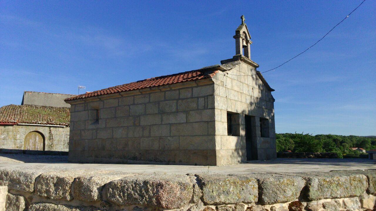 Capilla de San Roque en Escornabois