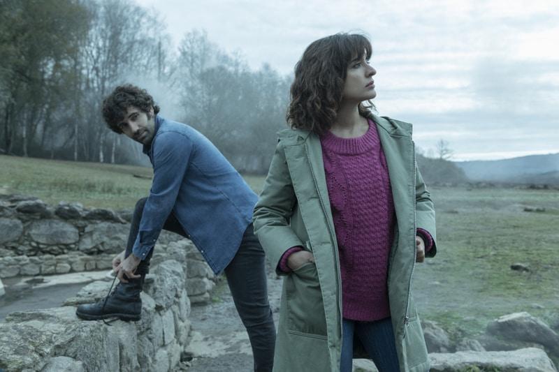 Tamar Novas e Inma Cuesta en las Termas de Bande/ Jaime Olmedo, Netflix
